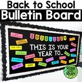 Back to School Bulletin Board or Door Kit