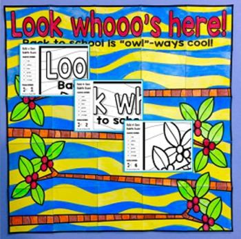 Back to School Bulletin Board - Owl Theme