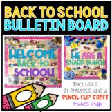 Back to School Bulletin Board / Pencil Bulletin Board