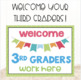 Back to School Bulletin Board Posters and Bookmarks for 3rd Grade