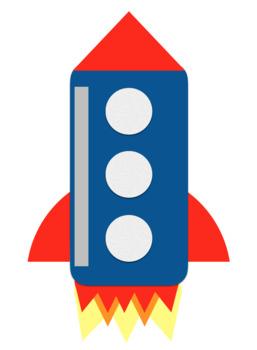 Back to School Bulletin Board Rockets