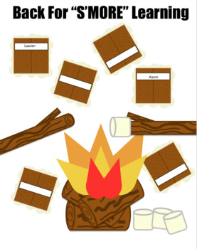 Back to School Bulletin Board S'Mores