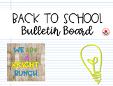Back to School Bulletin Board Set