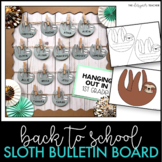 Back to School Bulletin Board and Door Decor Sloth Theme