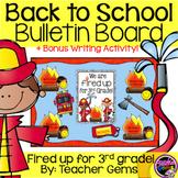 Back to School Bulletin Board Third Grade