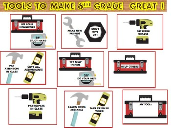 Back to School Bulletin Board- Tools for a Great School Year!