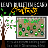 Back to School Bulletin Board and Craftivity • Growth Mindset  • IB Reflection