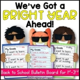 Back to School Bulletin Board for First, Second, Third Gra