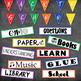 Back to School Bulletin Board or Word Wall Ideas