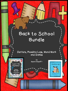 Back to School Bundle: Literacy Centers