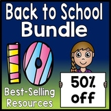 Back to School Bundle: 10 Best-Selling Beginning of Year Resources {50% Off!}