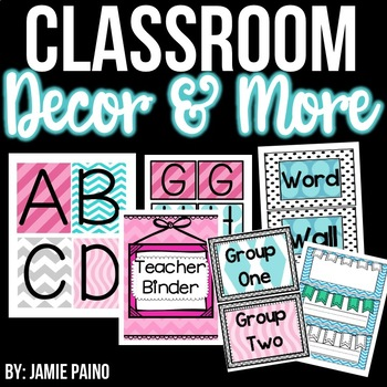 *Classroom Decor & Management System- FREEBIE*