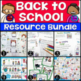 Beginning of the Year Activities Bundle