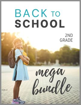 Back to School Activities 2nd Grade Bundle
