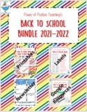 Back to School Bundle 2021-2022