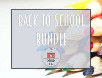 Classroom Lens Stock Photos - Back to School Bundle