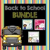Back to School 2nd Grade Bundle (Meet the Teacher PLUS First Week Activities!)