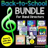 #1 Back to School Bundle for Beginning Band Directors