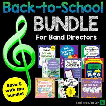 Back to School Bundle for Beginning Band Directors