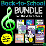 Back to School Bundle for Beginning Band Directors