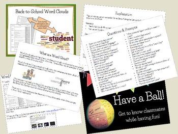 Back to School Bundle- 5 Activities in 1- 33% off!
