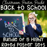 Back to School Bundle- 5 Higly Rated Primary Poster Products!