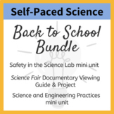 Back to School Bundle - An Introduction to Middle School Science