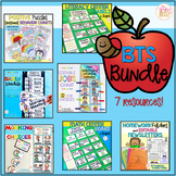 Back to School Bundle - Back to School Organization