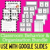 Buffalo Plaid Classroom Management and Organization Bundle