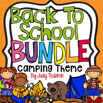 Back to School Bundle (Camping Theme)
