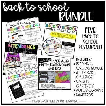 Back to School Bundle {Everything You Need to Start the Year!}