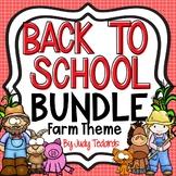 Back to School Bundle (Farm Theme)