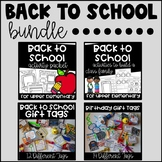 Back to School Bundle {For Upper Elementary}