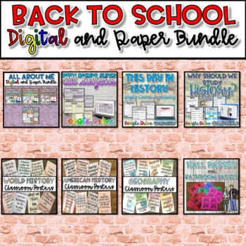 Back to School Bundle {Google Drive}