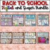Back to School SUPER Bundle {Digital AND Paper}
