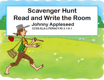 Reading, Math and Get to Know You Apple Collection- Grades 5-6