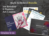 Back-to School Bundle - Ice Breaker, Lesson, Classroom Posters