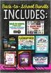 Back to School Bundle: Icebreakers, Memes, Decor, Rules, P
