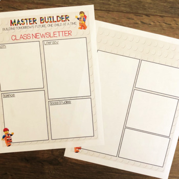 Back to School Bundle: Brick Builder/Lego Inspired Theme