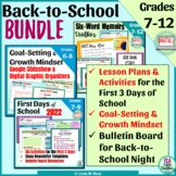 Back-to-School Activities, Lesson Plans & Bulletin Board I