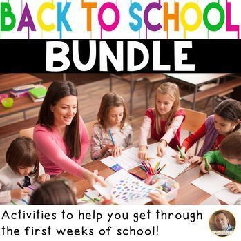 Back to School Bundle: Materials to Get You Through the Weeks of School