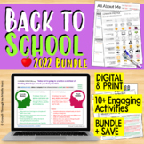 Back to Middle School Bundle (Distance Learning Supported)