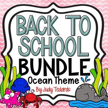 Back to School Bundle (Ocean Theme)