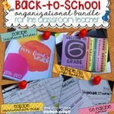 Back to School Bundle - Organization for Teachers