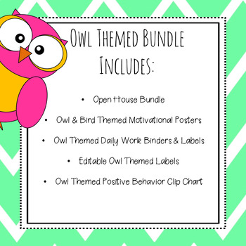 Back to School Classroom Management {Owl Theme}
