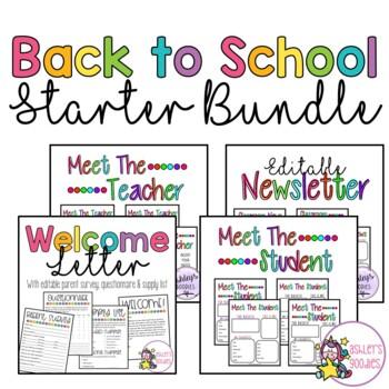 Back to School Bundle Pack!