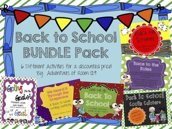 Back to School Discounted Bundle Pack