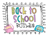 Back to School Bundle Pack