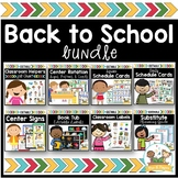 Back to School Bundle Pre-K Preschool