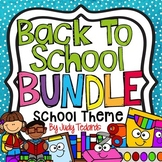 Back to School Bundle (School Theme)